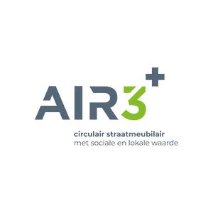 AIR+ Circulair Straatmeubilair logo